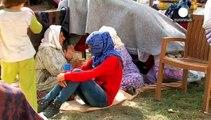 Alerta humanitaria en Turquía por los refugiados kurdos llegados de Siria