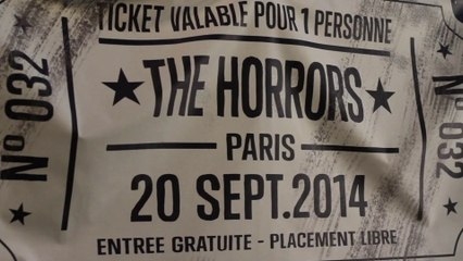 Jalouse X Converse presents The Horrors