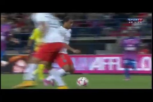Lucas Moura Amazing Goal Caem vs Paris Saint-German 0 -1 24.09.14