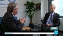 L'ENTRETIEN - Antonio Guterres, Haut Commissaire des Nations unies pour les réfugiés