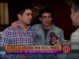 """Nikko Ponce se reunió con sus amigos del elenco de """"Mi Amor El Wachimán"""" para ver el GRAN ESTRENO de la Tercera Temporada"""
