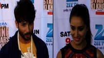Shahid Kapoor And Shraddha Kapoor Promote Haider On The Sets Of Cinestars Ki Khoj Grand Finale