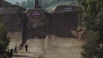 Les plus gros jumps en BMX Dirt sur un Quarterpipe de dingue