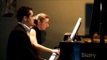 Ravel - Laideronnette (extrait) Duo Terra Nova (archive 2014 du tout premier concert)