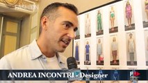 """""""ANDREA INCONTRI"""" Backstage and Interview Spring Summer 2015 Milan by Fashion Channel"""