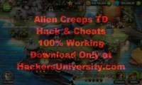 Alien Creeps TD Hack Cheats (Unlimited Gems and Coins Cheats) Android and iOS