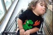 Un grand bébé qui n'a pas assez dormi