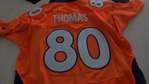 Women's NFL Denver broncos pink Wes Welker jersey Nike Julius Thomas elite jerseys review
