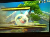 Mega Man VS Animal Crossing Villager In A Super Smash Bros. For Nintendo 3DS Demo Match / Battle / Fight