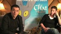 Le Chat du rabbin- Interview Sfar et Delesvaux