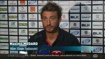 Rugby | Toulouse/Bayonne : Interview de Maxime Médard