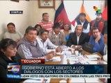 Ecuador: nuevo Código Laboral amplía los derechos de los trabajadores