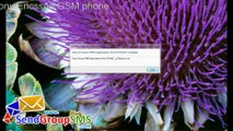 Send SMS from Sony Ericsson GSM phone using DRPU SMS Tool
