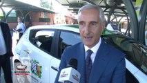 A Roma sbarcano i primi taxi 100% elettrici d'Italia. Accordo tra Nissan e Radiotaxi 3570