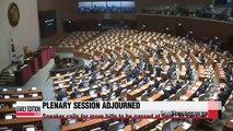 Assembly Speaker adjourns Friday's plenary session