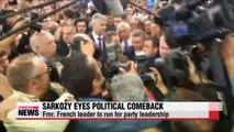 France's Sarkozy launches political comeback