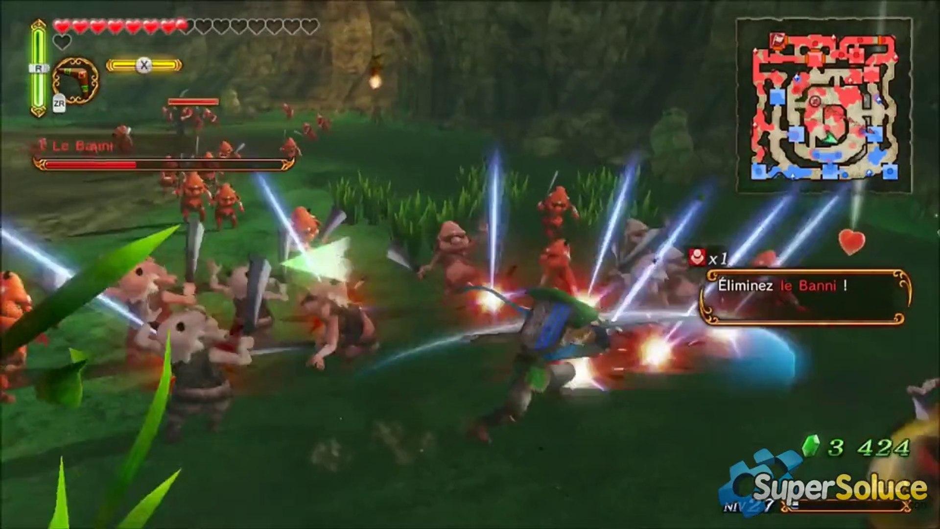 Soluce Hyrule Warriors - Mission 10 - Boss Le Banni