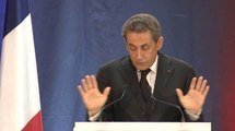Discours de Nicolas Sarkozy à Lambersart (Nord)