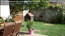 A vendre - maison - Proche Marines (95640) - 5 pièces - 111m²