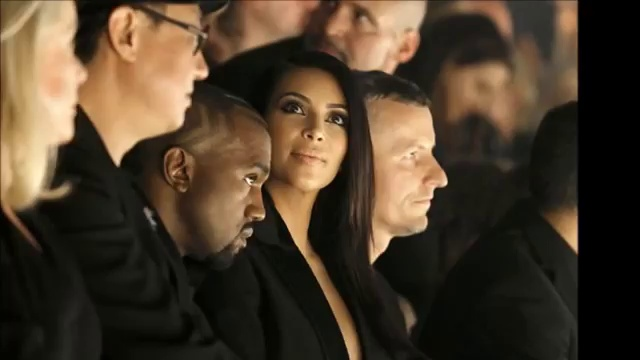 Kanye West and Kim Kardashian receive high-fashion heckles after turning up late to Lanvin PFW show