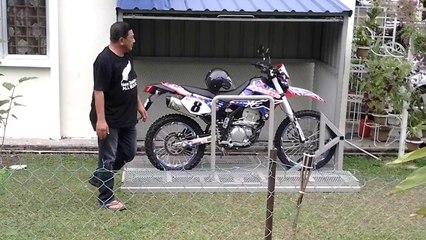 Fabriquer un abri de moto dans son jardin