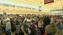 After Sabotage, Air Travel System Slowly Recovers