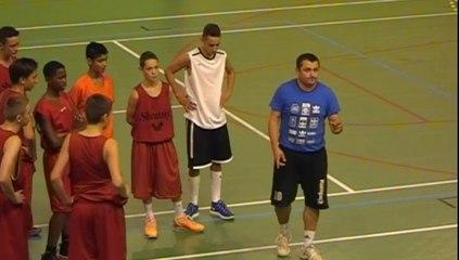 basketball - préparation physique par Bertrand BARBIER - Toul le 6 sept. 2014 - part 1
