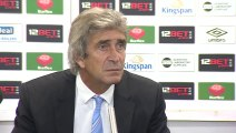 Hull City v Manchester City - Reaction With Manuel Pellegrini