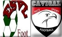 Match de football du championnat U15 Excellence ES Villeneuve Loubet / Cavigal Nice 27/09/2014