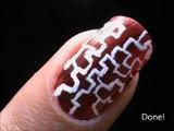Easy Nail Art For Beginners - easy nail designs for short nails- nail art tutorial