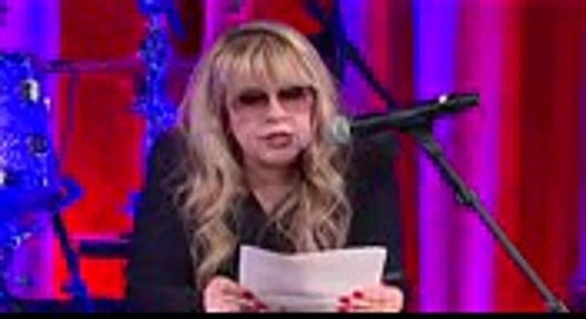 Stevie Nicks Accepts the BMI Icon Award