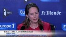 """Ségolène Royal :""""Nous devons être une locomotive"""""""