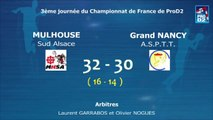 Revoir Mulhouse Sud Alsace / Grand nancy ASPTT - Handball ProD2