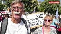 Nantes. La Bretagne à cinq : les arguments des manifestants