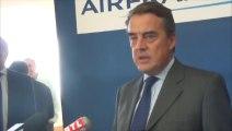 Alexandre de Juniac, le PDG du groupe Air France-KLM,