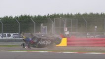 BTCC 2014 Silverstone Race 2 Massive Crash Rob Collard