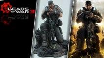 Gears of war 3 figurine microsoft studios xbox 360 collector 2011 HD