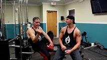 Il n'y a pas d'âge pour prendre du muscle, cet homme en est la preuve !
