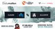 Allaince vs Cloud9 game 2 @ D2CL S4 Versuta