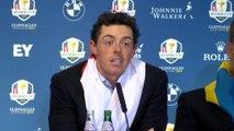 GOLF: Ryder Cup: McIlroy: ''Todavía Europa está por debajo de EEUU en Ryder Cups''