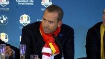 GOLF: Ryder Cup: Sergio García 'perdona' a Faldo