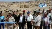 محافظ أسوان ومدير الأمن يقودان حملة مكبرة لإزالة التعديات على أملاك الدولة