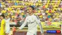 La réaction de Cristiano Ronaldo Come Home Ronaldo des fans de MU | Villarreal 0-2 Real Madrid 2014