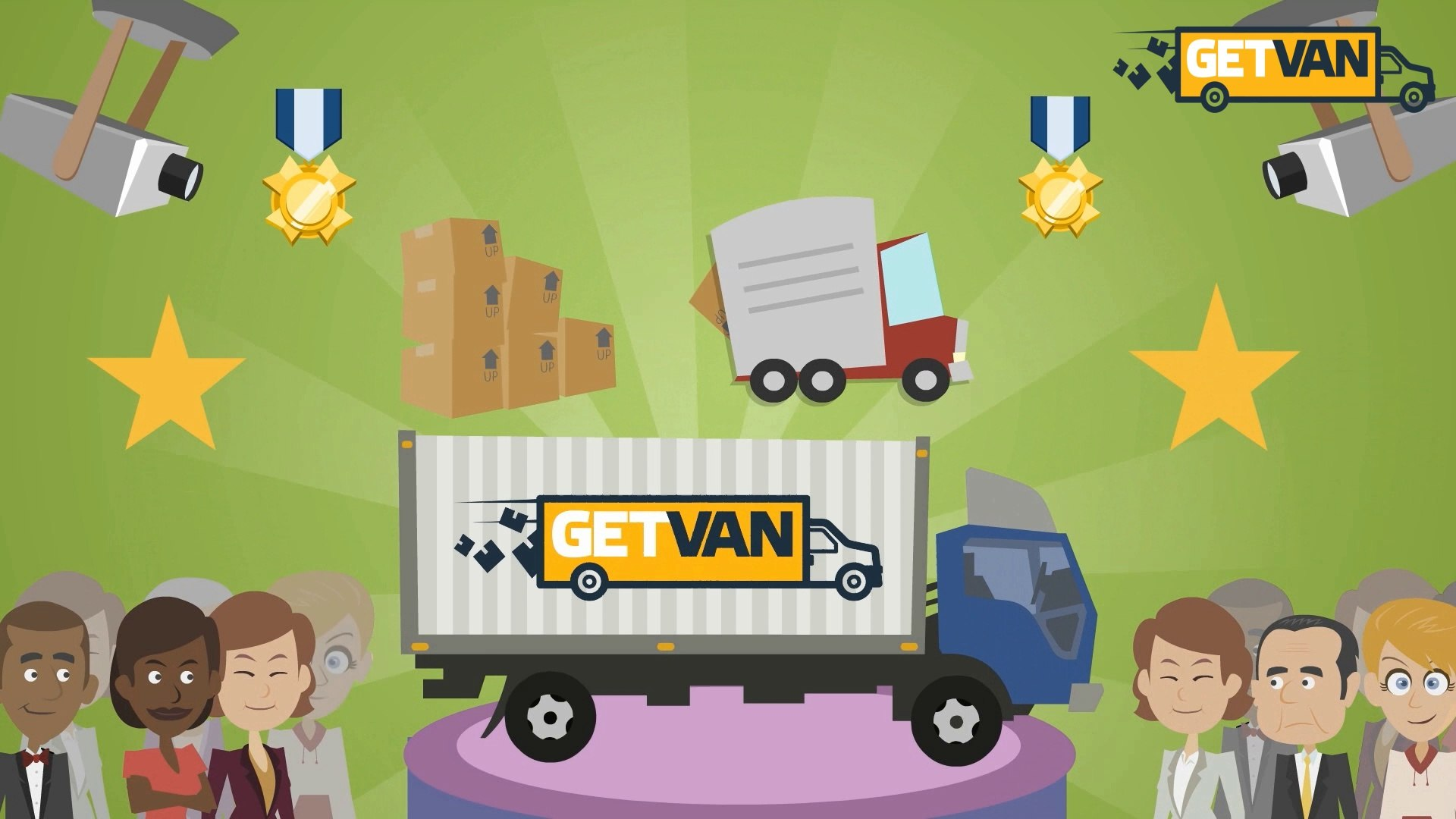 GetVan: How to delivery your eBay item with 75% OFF the delivery price?