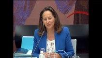 Transition énergétique : examen du projet de loi à l'Assemblée nationale. Intervention de Ségolène Royal en guise d'introduction.