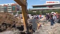 Ümraniye'de İSKİ'nin Atıksu Kanal Çalışması Sırasında 1 İşçi Göçük Altında Kaldı
