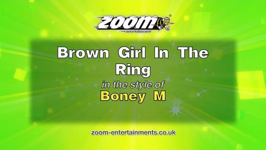 Zoom Karaoke - Brown Girl In The Ring - Boney M