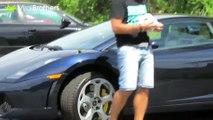 caméra cachée : piéger le proprio d'une Lamborghini peut s'avérer très dangereux