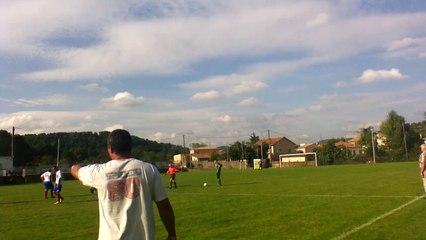 match  réserve sénior 28/09/14 BSA 4-0 LE PRADEL