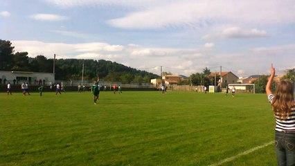 match  réserve sénior 28/09/14 BSA - LE PRADEL